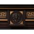 Портал для электрокамина Electrolux Vittoriano 26/30 шпон тёмный дуб с золотой патиной