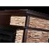 Портал для электрокамина Electrolux Scala 25 камень сланец скалистый бурый, шпон тёмный дуб