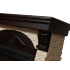 Портал для электрокамина Electrolux Torre 25S камень слоновая кость, шпон венге