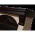Портал для электрокамина Electrolux Torre 30S камень слоновая кость, шпон венге