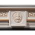 Портал для электрокамина Electrolux Vittoriano 30 шпон белёный дуб с золотой патиной
