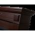 Портал для электрокамина Electrolux Bianco 26/30 шпон темный дуб